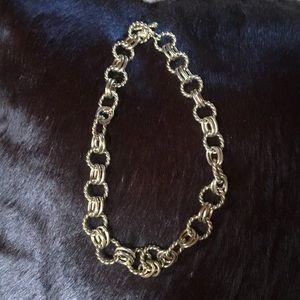 Heidi Daus gold chain choker